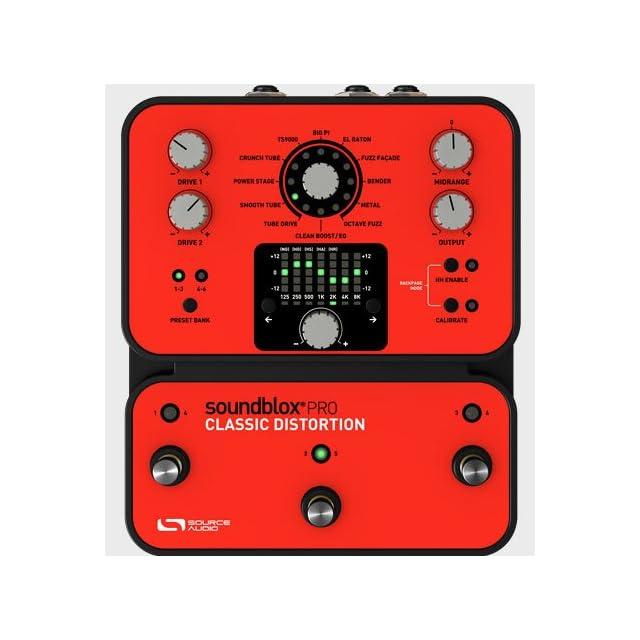 エフェクター画像 Source Audio SA142 Classic Distortion