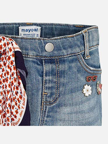 Basic 3501 Long Pants for Girls Mayoral