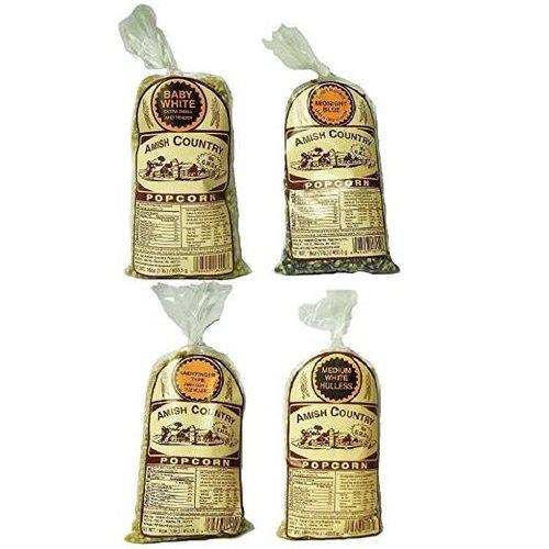 popcorn amish white - 6