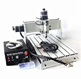 3 Axis 3040 Z-DQ 300W Mach3 CNC Router Engraver Engraving Milling Drilling Machine Desktop Kit 110V