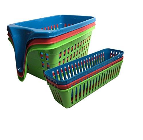 fridge baskets with handles - 3
