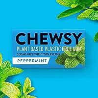 Chewsy Goma De Mascar Menta | Chicles Naturales Sin Plástico | Chicles Sin Azucar Y Aspartamo | 100% Xilitol, Protege…