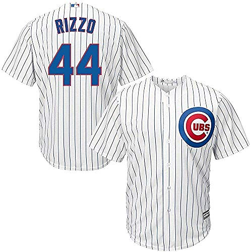 - Majestic Anthony Rizzo Chicago Cubs MLB Youth White Home Cool Base Replica Jersey (Size Medium 10-12)