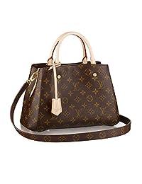 Louis Vuitton Monogram Canvas Montaigne BB Handbag Article:M41055 Made in France
