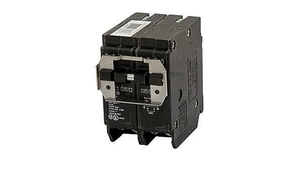 2P BR Series 15//40A 10 kAIC CTL Quad 120//240V Eaton BQC215240 Breaker