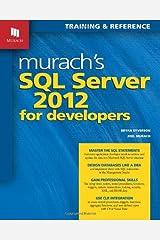 Murach's SQL Server 2012 for Developers (Training & Reference) Paperback