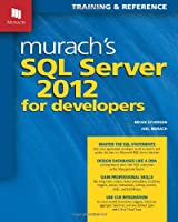 Murach's SQL Server 2012 for Developers Front Cover