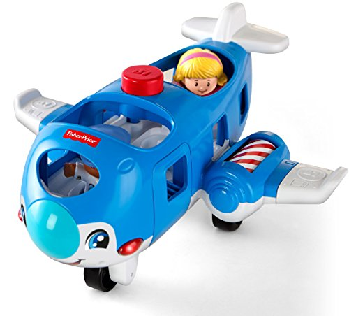 51gHtUDutpL - Fisher-Price Little People Travel Together Airplane Vehicle