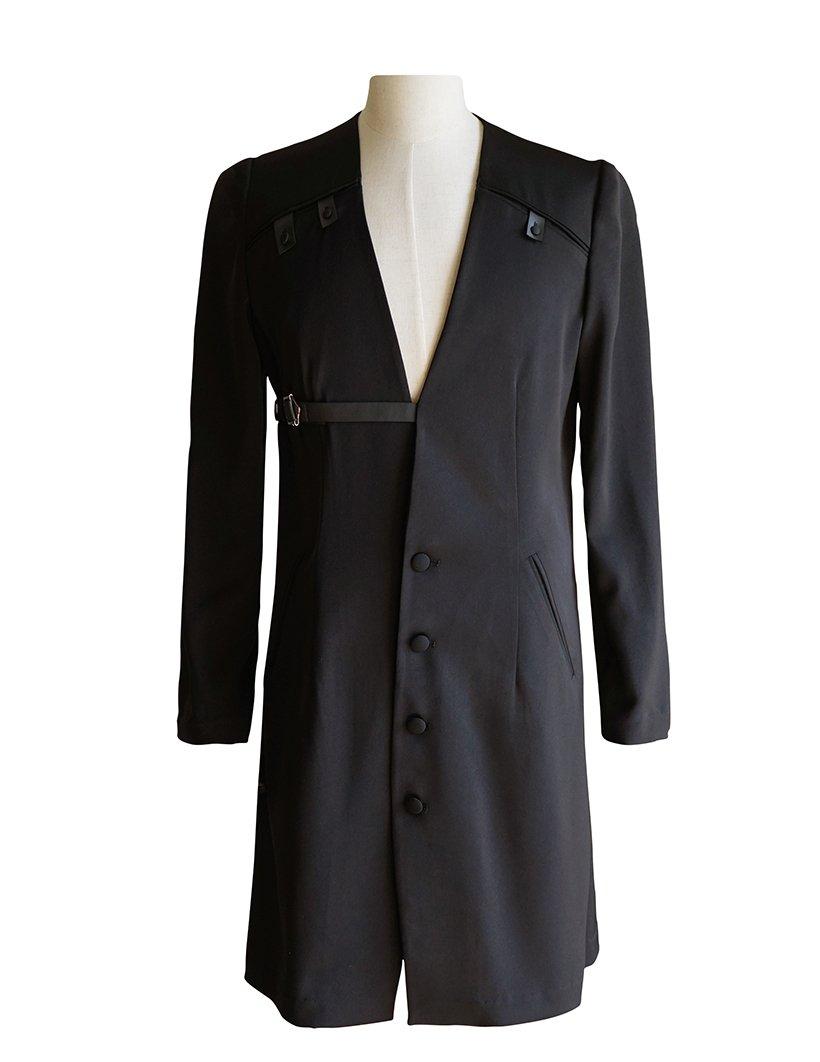 Vintage Light Jacket for Men Overshirt Ancient Summer Robe (Large, Black)