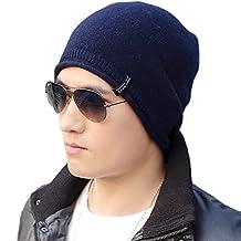 Siggi Unisex Thick Wool Knit Baggy Slouchy Beanie Hat Watch Cap for Men Women