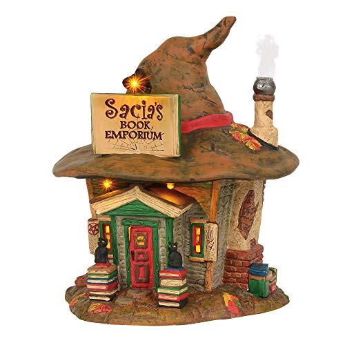 Department 56 Snow Village Halloween Sacia's Book Emporium -