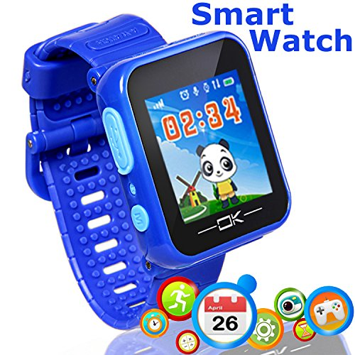 Game Smart Watch for Kids - Marmoon 3-12 Year Kids Smartwatch with Color Screen Camera Electronics Pet Game Pedometer Kids Digital Wrist Watche Learning Toy Game Watch for Boys Girls Children Day Gift