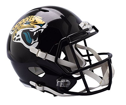 (Riddell Sports NFL Jacksonville Jaguars Speed Replica Helmet, Black, Full Size)