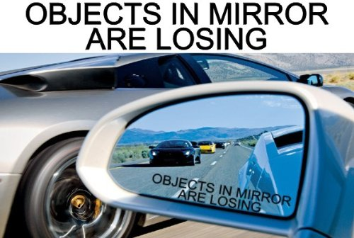 (2) MIRROR DECALS for AMC RAMBLER AMX GO PAK JAVELIN SST PACER REBEL AMBASSADOR 220 285 360 390 440 770 CROSS COUNTRY WAGON SX4 EAGLE LIMITED 4X4 HOT ROD MACHINE GO PACK GREMLIN METROPOLITAN NASH HORNET