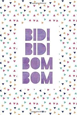 Amazon Com Bidi Bidi Bom Bom Lined Ruled Journal 6 X 9 Notebook Selena Quintanilla 9781725876309 Milexico Books