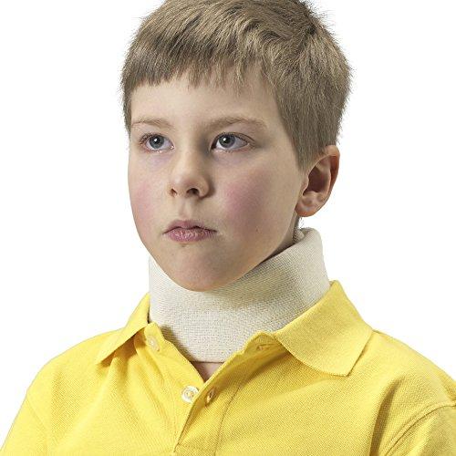 OTC Kidsline Cervical Collar Soft Foam Neck Brace, White, Infant Kidsline Cover