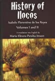 img - for History of Ilocos: Volumes I and II book / textbook / text book
