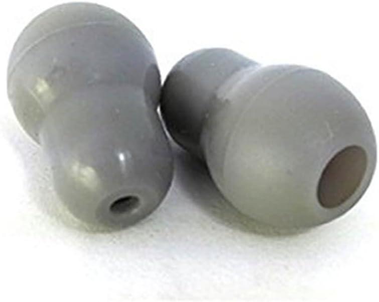Juego de 2 almohadillas de silicona para estetoscopio Littmann, color gris