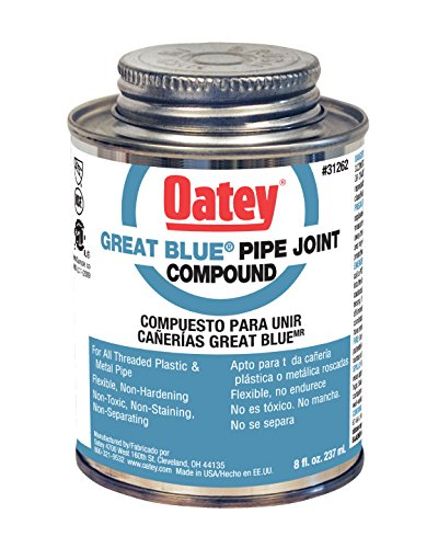 Oatey 31262 Great Blue Pipe Joint Compound, 8 fl.Ounce
