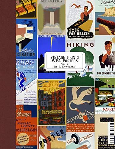 Vintage Prints: WPA Posters: Vol. 2 (National Parks Portfolio)