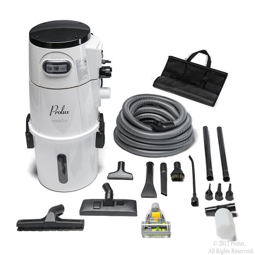 Prolux Wet Dry Garage shop Vacuum with Attachments, Shampooer, Sprayer, Blower, Wet Dry Pickup