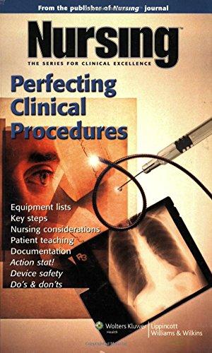 Nursing: Perfecting Clinical Procedures (Nursing Journal Series)
