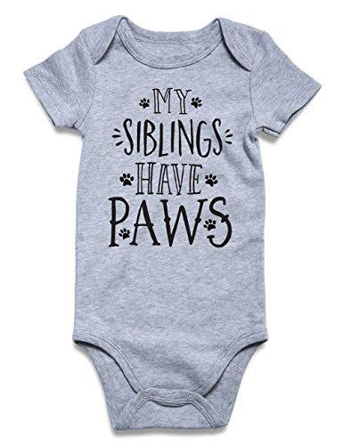 Funnycokid Funny Infant Romper Jumpsuit Baby Layette Bodysuit Kids' (Funny Holiday Onesie)