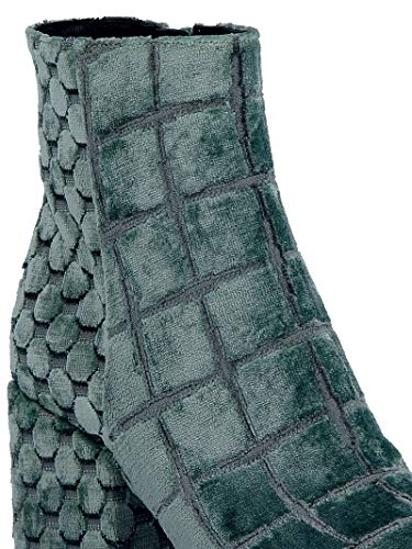 A2830tcq Ankle Boots Green Strategia Women's Velvet 0xRSwqBBHY