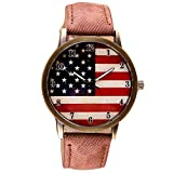Best iXCC Watch Bands - Start Men's & Women's Chic Watches American Flag Review