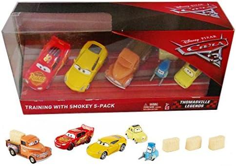 Disney Pixar Cars 3 - Training with Smokey 5 pack …: Amazon.es: Juguetes y juegos