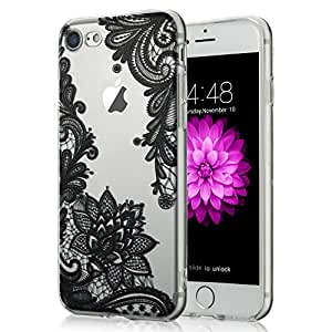 Cute Lace Flower Case for iPhone 7