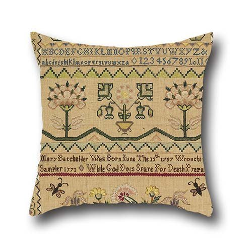 Pillow Shams 16 X 16 Inches / 40 By 40 Cm(twin Sides) Nice Choice For Floor,living Room,teens,couples,play Room,pub Oil Painting Mary Batchelder, American - Sampler (Moose Sampler)