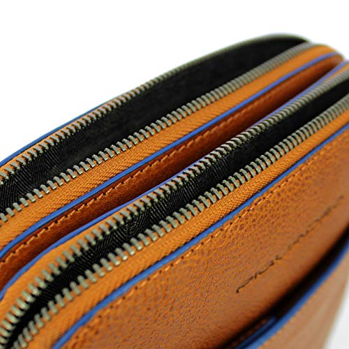 Special tabak A Blue Braun Piquadro Braun Square Cm Tracolla Borsa Pelle 20 ETvxqR6wn