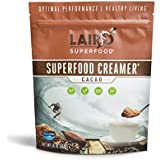 Laird Superfood Coffee Creamer Cacao | Non-Dairy | Organic | Gluten Free | Vegan | Paleo Diet Approved - 1 lb Bag