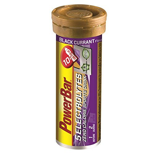 (Powerbar Five Electrolytes Tabs 10 Tabs x 12 Tubes Black Currant Hydration Packs by Power Bar)
