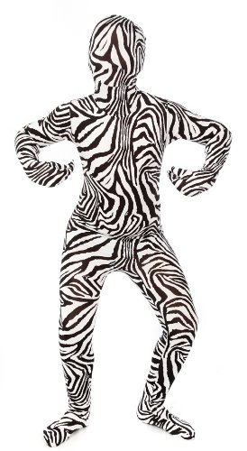 Kids Zebra Morphsuits Childs Costume Small 3