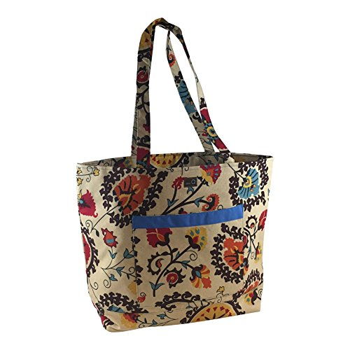 Della Q Willa Shoulder Yarn Bag 424-1 Waterton by della Q
