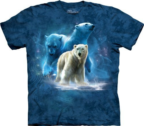 Polar Bear Collage The Mountain Tee Child S-XL & Adult for sale  Delivered anywhere in USA