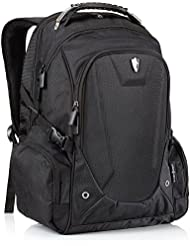 Victoriatourist Laptop Backpack Fits 17 inch Laptops, Black