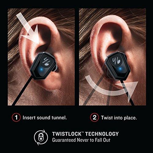 6edb853c4f4 Yurbuds Leap 100 Wireless Bluetooth Sweat Proof In-Ear: Amazon.co.uk:  Electronics