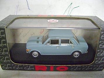 RIO FIAT 128 4 APERTURE 1969 AZZURRO 1/43 model cars: Amazon.es: Juguetes y juegos