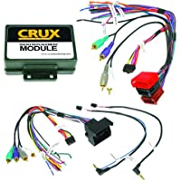 CRUX SWRAD-55 Radio Replacement with SWC Retention (Audi Vehicles )