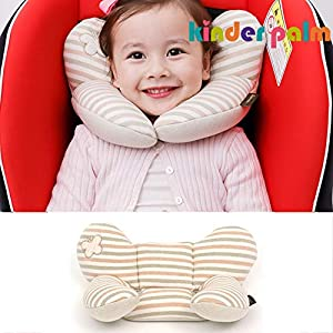 Head and Neck Support Baby Pillow L line Butterfly