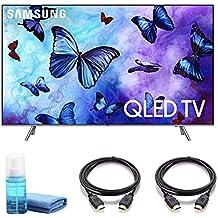 """QN55Q6F Flat 55"""" QLED 4K UHD 6 Series Smart TV 2018 - Includes Starter Kit"""