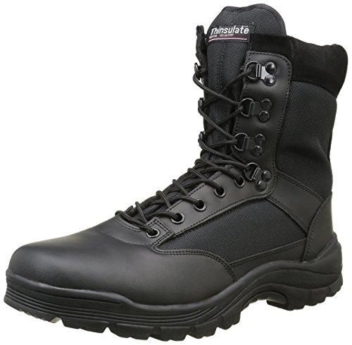 Mil-Tec SWAT Stiefel schwarz Einsatzstiefel Trekking-Schuh Wanderschuh Bergschuh Outdoorschuh Größe 37-50