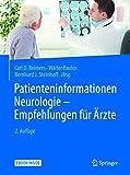 patienteninformationen neurologie empfehlungen f?r ?rzte german edition