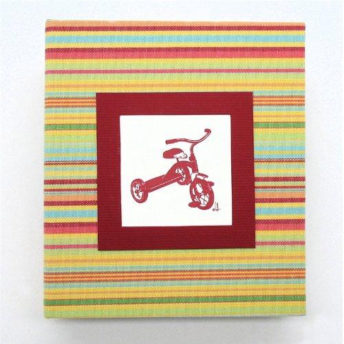 [해외]홈 집 에센스 사진 앨범 2 업-레드 세 발 자전거 / HOM Home Essence Photo Album 2-Up - Red Tricycle