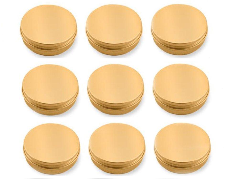 【在庫僅少】 erioctry 60 12pcs 60 ml GoldenラウンドメタルスチールアルミニウムTin Jar potsリップクリームネイルアートコスメティックケースクリームボトルストレージコンテナwith erioctry Screw Lid for for DIY B07DLSYXMS, 謙信笹だんご本舗くさのや:98fb73c3 --- svecha37.ru