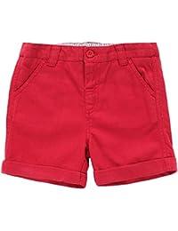 JoJo Maman Bebe Chino Shorts (Toddler/Kid) - Red-4-5