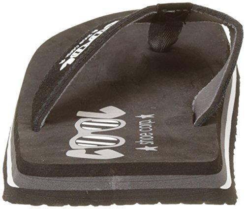 2 Noir Black Original Shoe 00861 Cool Tongs Denim WnpqTaU